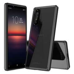 Custom moulded for the Olixar ExoShield Sony Xperia 1 II Case - Black. This black Olixar ExoShield tough case provides a slim fitting stylish design and reinforced corner shock protection against damage, keeping your device looking great at all times.