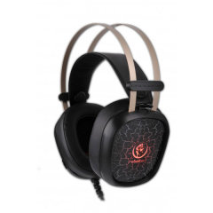 Rebeltec Tornado PC Gaming Headset - Black / Red