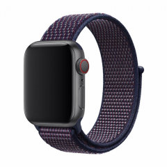 Treat your brand new 40mm / 38mm Apple Watch Series 1-6/SE with the ultra-high quality silicone strap in indigo. Comfortable, durable and stylish, this Devia strap is designed to suit your personal sense of style.
