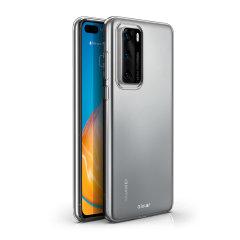 Conçue sur mesure pour Huawei P40, la coque Olixar Ultra-mince est 100% transparente et offre un ajustement parfait votre smartphone. Mince et fabriquée à partir d'un matériau résistant en gel, elle assure une protection durable contre les dommages.