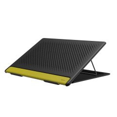 The Baseus Mesh Portable Laptop Stand will improve both your posture and your productivity. With an adjustable viewing elevation, anti-slip pads and a sleek, modern design which emphasises proper air flow, this is the perfect companion for your laptop.