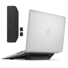 The worry-free laptop stand from Rearth Ringke in Black. Lightweight and portable this laptop stand is compatible with most laptops, tablets, and keyboards on the market.