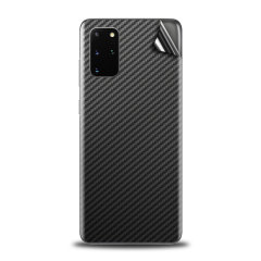 Protect your Samsung S20 Plus in sleek style with the Olixar Carbon Fibre Skin in Black. This Skin is completely scratch resistant & ultra-thin finished a premium carbon finish leaving behind no residue. This skin will make you stand out from the crowd!