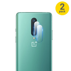 This 2 pack of ultra-thin tempered glass rear camera protectors for the OnePlus 8 from Olixar offers toughness and superb clarity for your photography all in one package.