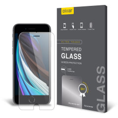 This ultra-thin tempered glass screen protector for the iPhone SE 2020 from Olixar offers toughness, high visibility and sensitivity all in one package. This screen protector has been specially designed to be compatible with a wide range of cases.