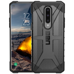 The Urban Armour Gear Plasma for the OnePlus 8 features a protective TPU case in Ash Grey with a brushed metal UAG logo insert for an amazing design and excellent protection from scrapes, bumps and scratches.