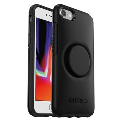 The Pop Symmetry Case for the iPhone SE 2020 in Black provides ultimate protection as well as convenience and practicality with the added feature of the PopSocket PopGrip that is integrated for maximum grip and control of your iPhone SE 2020.