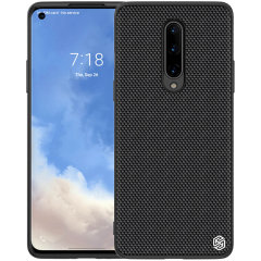 Nillkin OnePlus 8 Nylon Fibre Ultra-Thin Textured Case  - Black