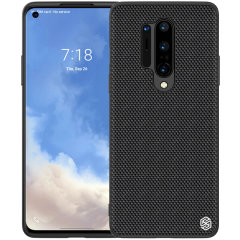 The Nillkin Textured case in Black for OnePlus Pro is made from environmentally friendly refined nylon fibre that is tough, lightweight and durable. The rich texture design feels supreme in your hands, preventing slips whilst offering a sophisticated look