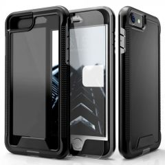 The Protective Ion series case for the iPhone SE 2020. The Black finish gives you protection for your phone in style. This case is made for pure luxury and style.