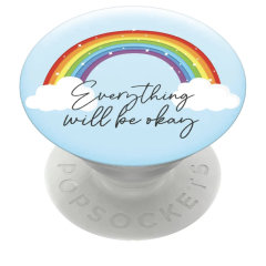 PopSockets x Lovecases Universal 2-in-1 Stand & Grip - Rainbow Design