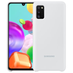 Protect your New Samsung Galaxy A41 with this Official silicone case in White. Simple yet stylish, this case is the perfect accessory for your Galaxy A41.