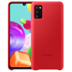 Protect your New Samsung Galaxy A41 with this Official silicone case in Red. Simple yet stylish, this case is the perfect accessory for your Galaxy A41.