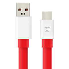 Official OnePlus Warp Charge USB-C Charging Cable 1m - Red