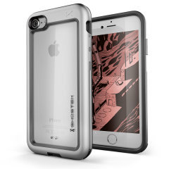 Ghostek Atomic Slim iPhone SE 2020 Case - Silver