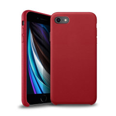 Crafted from premium genuine leather, this exquisite red Eco-Friendly Case for the iPhone iPhone SE 2020 provides stunning style and prestigious protection for your phone in a slim and sleek package.