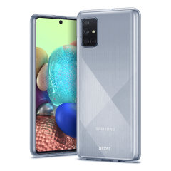 Custom moulded for the Samsung Galaxy A71 5G, this 100% clear Ultra-Thin case by Olixar provides slim fitting and durable protection against damage.