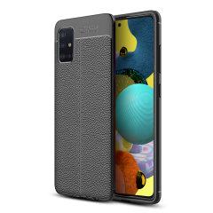 Olixar Attache Samsung Galaxy A51 5G Executive Case - Black
