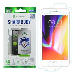 Shark Full Body Film is a set of 2 premium quality screen protector (first for screen, second for back) with full coverage protection and unique auto-repair coating layer. Ultra-thin 7 made of multiple structured covers made of high-quality TPE material.