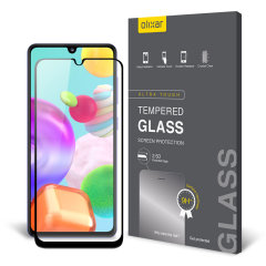 This ultra-thin tempered glass screen protector for the Samsung Galaxy A41 from Olixar offers toughness, high visibility and sensitivity all in one package.