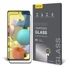 This ultra-thin tempered glass screen protector for the Samsung Galaxy A51 5G from Olixar offers toughness, high visibility and sensitivity all in one package.