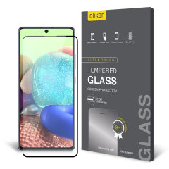 This ultra-thin tempered glass screen protector for the Samsung Galaxy A71 5G from Olixar offers toughness, high visibility and sensitivity all in one package.
