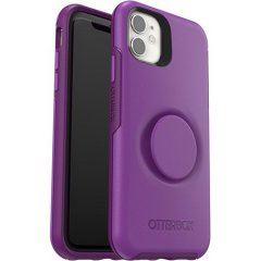 The Pop Symmetry Case for the iPhone 11 in Purple provides ultimate protection as well as convenience & practicality with the added feature of the PopSocket PopGrip that is integrated for maximum grip and control of your iPhone 11.