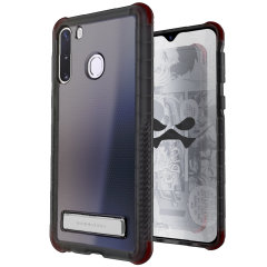 Custom moulded for the Samsung Galaxy A21, the Ghostek tough case in smoke provides a slim fitting, stylish design and reinforced corner protection against shock damage, keeping your Samsung Galaxy A21 looking great at all times.