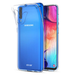 Custom moulded for the Samsung Galaxy A50, this purple FlexiShield gel case from Olixar provides excellent protection against damage as well as a slimline fit for added convenience.