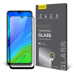 Olixar Huawei P Smart 2020 Tempered Glass Screen Protector - Black