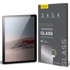 Keep your Microsoft Surface Go 2 screen in pristine condition and protect your personal data on the go with this Olixar scratch-resistant film privacy screen protector 2-in-1 pack.