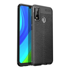 Olixar Attache Huawei P Smart 2020 Leather-Style Protective Case Black