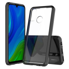 Custom moulded for the Huawei P Smart 2020. This black Olixar ExoShield tough case provides a slim fitting stylish design and reinforced corner shock protection against damage, keeping your device looking great at all times.