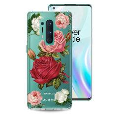 LoveCases OnePlus 8 Pro Gel Case - Roses