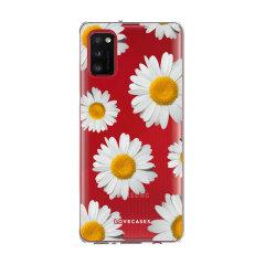 LoveCases Samsung Galaxy A41 Gel Case - Daisy