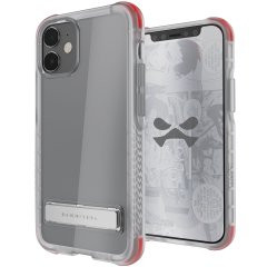 Custom moulded for the iPhone 12 mini, the Ghostek tough case in clear provides a slim fitting, stylish design and reinforced corner protection against shock damage, keeping your iPhone 12 mini looking great at all times.