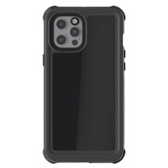 Shield your iPhone 12 Pro Max on both land and at sea with the extremely tough, yet incredibly stylish Nautical 3 Waterproof case from Ghostek in black. Protecting your iPhone 12 Pro Max from depths of up to 1 meter for up to 30 minutes.