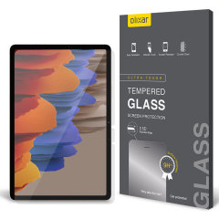 This ultra-thin tempered glass screen protector for the Samsung Galaxy Tab S7 from Olixar offers toughness, high visibility and sensitivity all in one package.