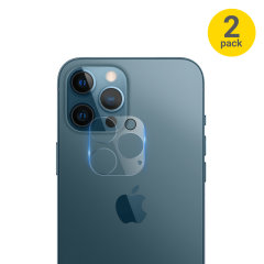 This 2 pack of ultra-thin rear camera protectors for the iPhone 12 Pro Max from Olixar offers toughness and superb clarity for your photography all in one package.