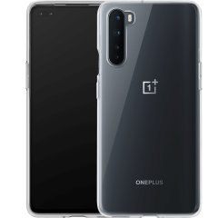 Official OnePlus Nord Clear Bumper Case - Transparent