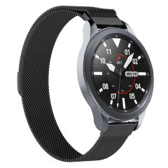 Olixar Milanese Samsung Watch 22mm Strap - Black