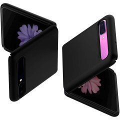 Spigen Thin Fit Samsung Galaxy Z Flip 5G Cover Case - Matte Black