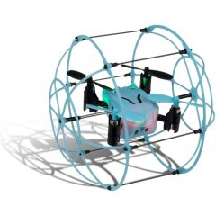 Arcade Mini Pico Cage Remote Controlled Drone - Blue / Black
