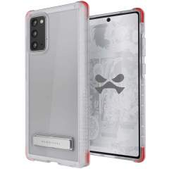 Custom moulded for the Samsung Galaxy Note 20 5G, the Ghostek tough case in clear provides a slim fitting, stylish design and reinforced corner protection against shock damage, keeping your Samsung Galaxy Note 20 5G looking great at all times.