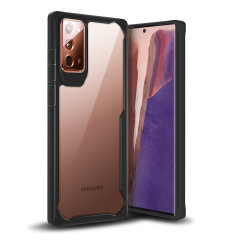 Perfect for Samsung Galaxy Note 20 5G owners looking to provide exquisite protection that won't compromise the Samsung's sleek design, the NovaShield from Olixar combines the perfect level of protection in a sleek black and clear bumper package.