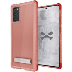 Custom moulded for the Samsung Galaxy Note 20 5G, the Ghostek tough case in Pink provides a slim fitting, stylish design and reinforced corner protection against shock damage, keeping your Samsung Galaxy Note 20 5G looking great at all times.