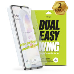Ringke LG Velvet Dual Easy Dust Removal Film Screen Protector - 2 Pack