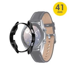 Keep your Samsung Galaxy Watch 3 in pristine condition with this Bezel Protector from Olixar in Black. Easily to install and discreet, protect your watch from bumps and scratches of daily life. Combine it with a screen protector for ultimate protection.