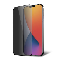 This tempered glass screen protector for the iPhone 12 Pro from Olixar has complete edge to edge screen protection, toughness, high visibility and sensitivity all in one package, with the added bonus of a privacy filter.