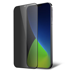This tempered glass screen protector for the iPhone 12 Pro Max from Olixar has complete edge to edge screen protection, toughness, high visibility and sensitivity all in one package, with the added bonus of a privacy filter.